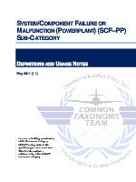 SYSTEM COMPONENT FAILURE OR MALFUNCTION (POWERPLANT) (SCF–PP) SUB-CATEGORY DEFINITIONS AND USAGE NOTES .pdf